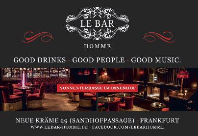 Le Bar Homme Frankfurt