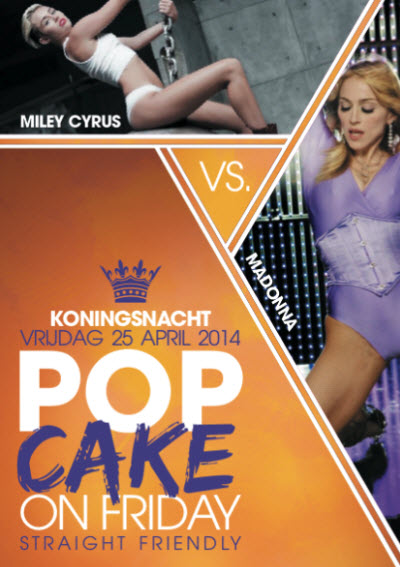 Popcake on Koningsnacht