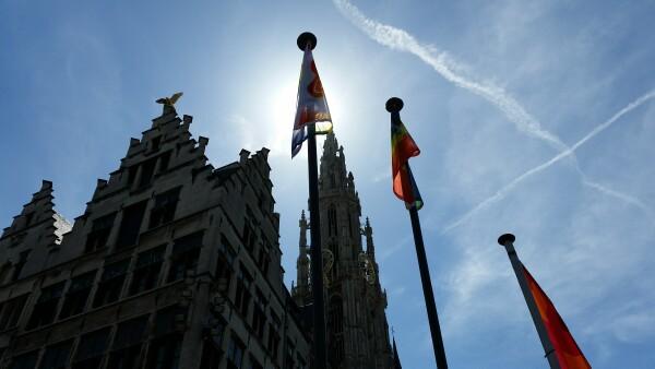 Antwerp Pride 2015 has started