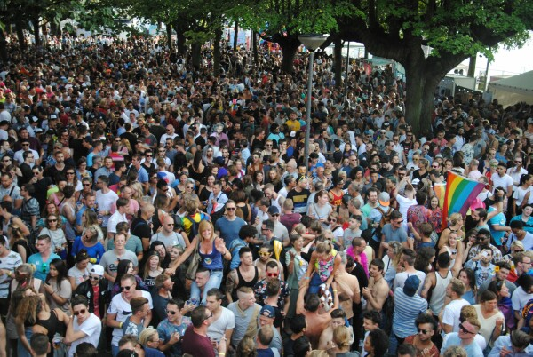 90,000 visitors to the Antwerp Pride Parade