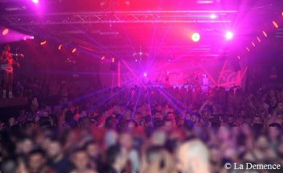 La Demence spektakular 27 Jahre Fest in Brussel