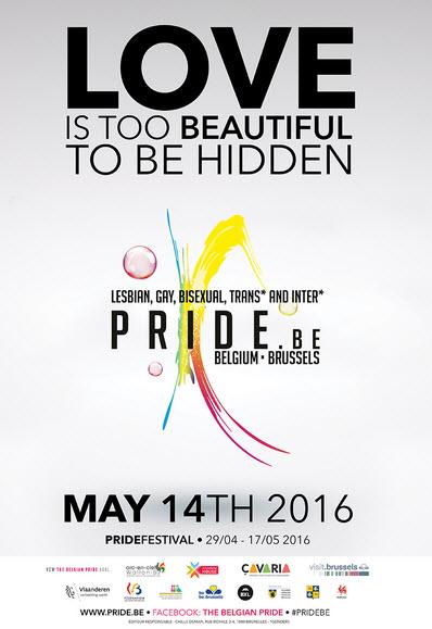 Belgian PrideFestival 2016