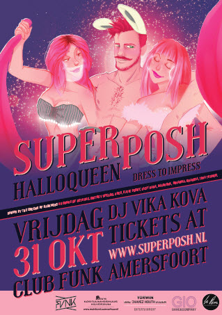 Superposh Halloqueen