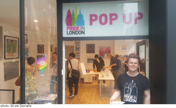 First ever Pride in London pop-up shop to open in Soho