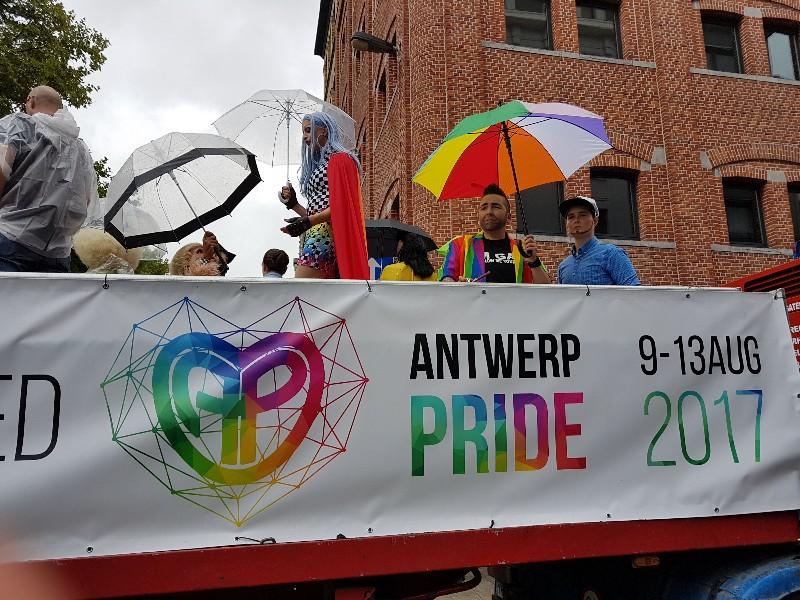 10 ans Antwerp Pride dans Anvers