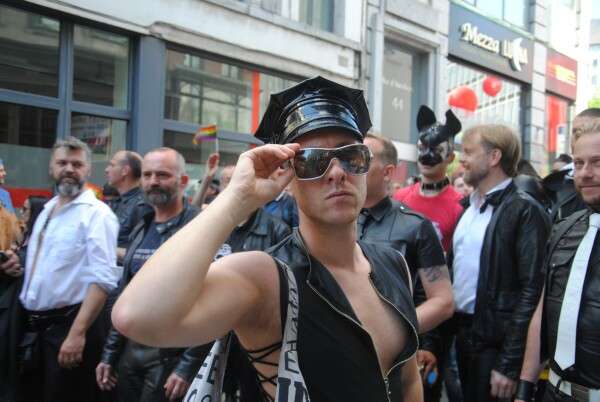 More then 90000 visitors on the 22th Belgian Pride