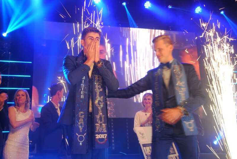 Jaimie Deblieck a été élu Mister Gay Belgium 2017