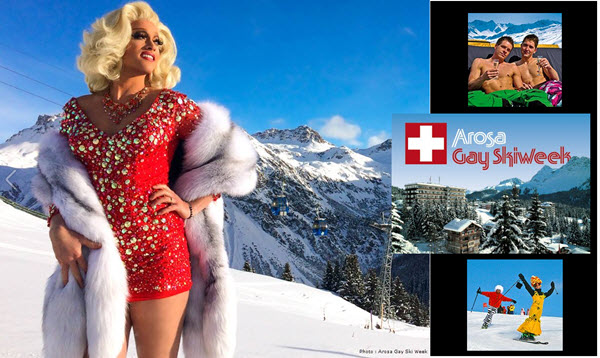 Arosa Gay Ski Week 2017
