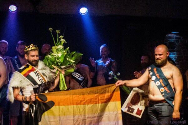 Julien Guilmain ist Mister Bear Belgien 2018