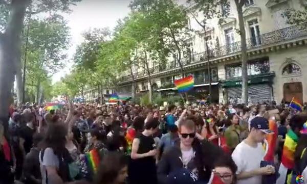 La Marche des Fiertes LGBT de Paris dans samedi 24 juin 2017