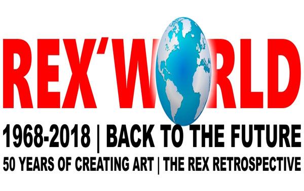 The work of REX  exhibition REXWORLD retrospective