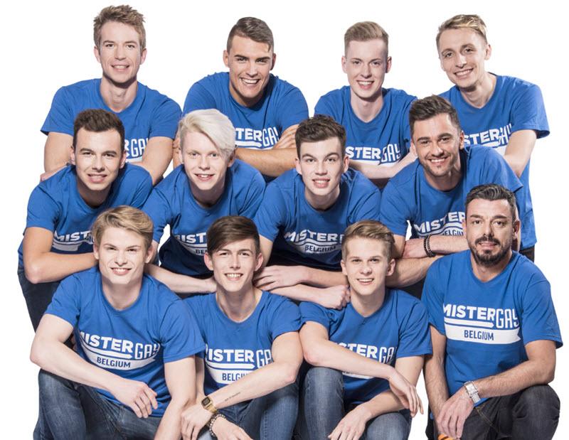 Mister Gay Belgium-finalisten blijven strijden tegen homofobie, en voor verdraagzame samenleving.