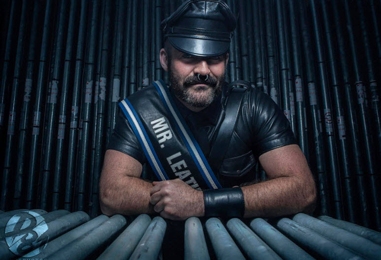 Mr Leather Europe Joe King about everyone wellcome