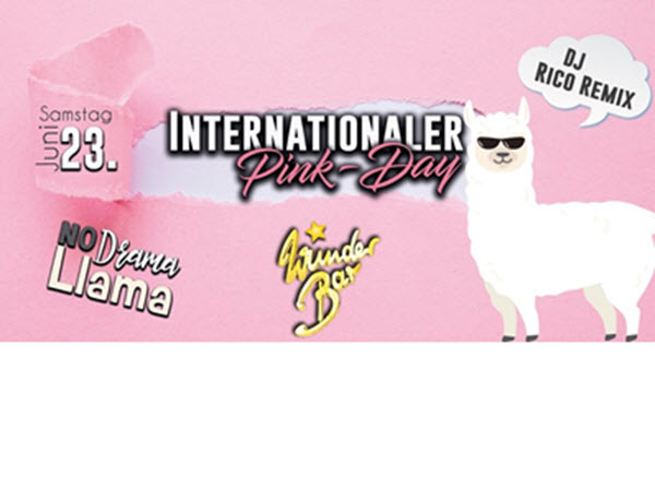 INTERNATIONALEN PINK DAY im Wunderbar Hamburg