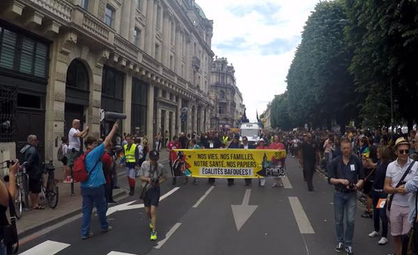 23ieme edition LGBTi Gay pride Lille 2018