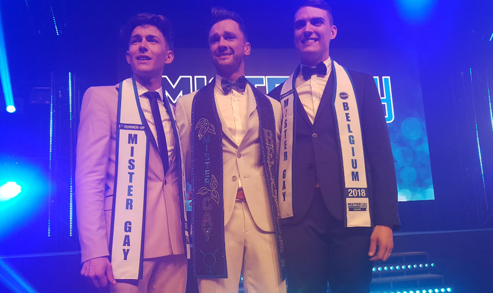 Bart Hesters is the new Mister Gay Belgium 2018