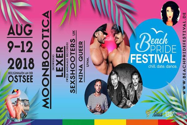 BEACH PRIDE FESTIVAL 2018