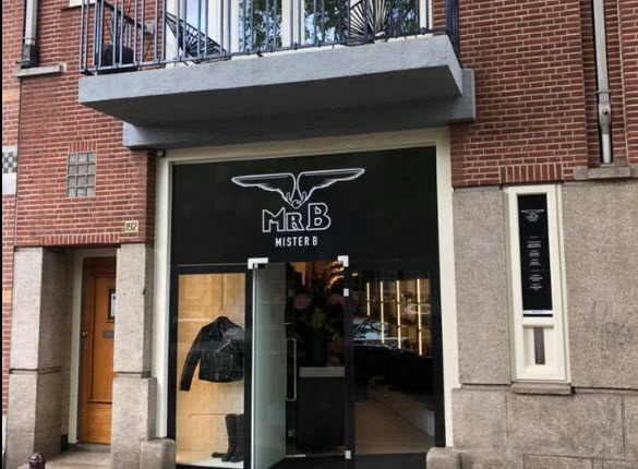 Amsterdam store Mister B is moved