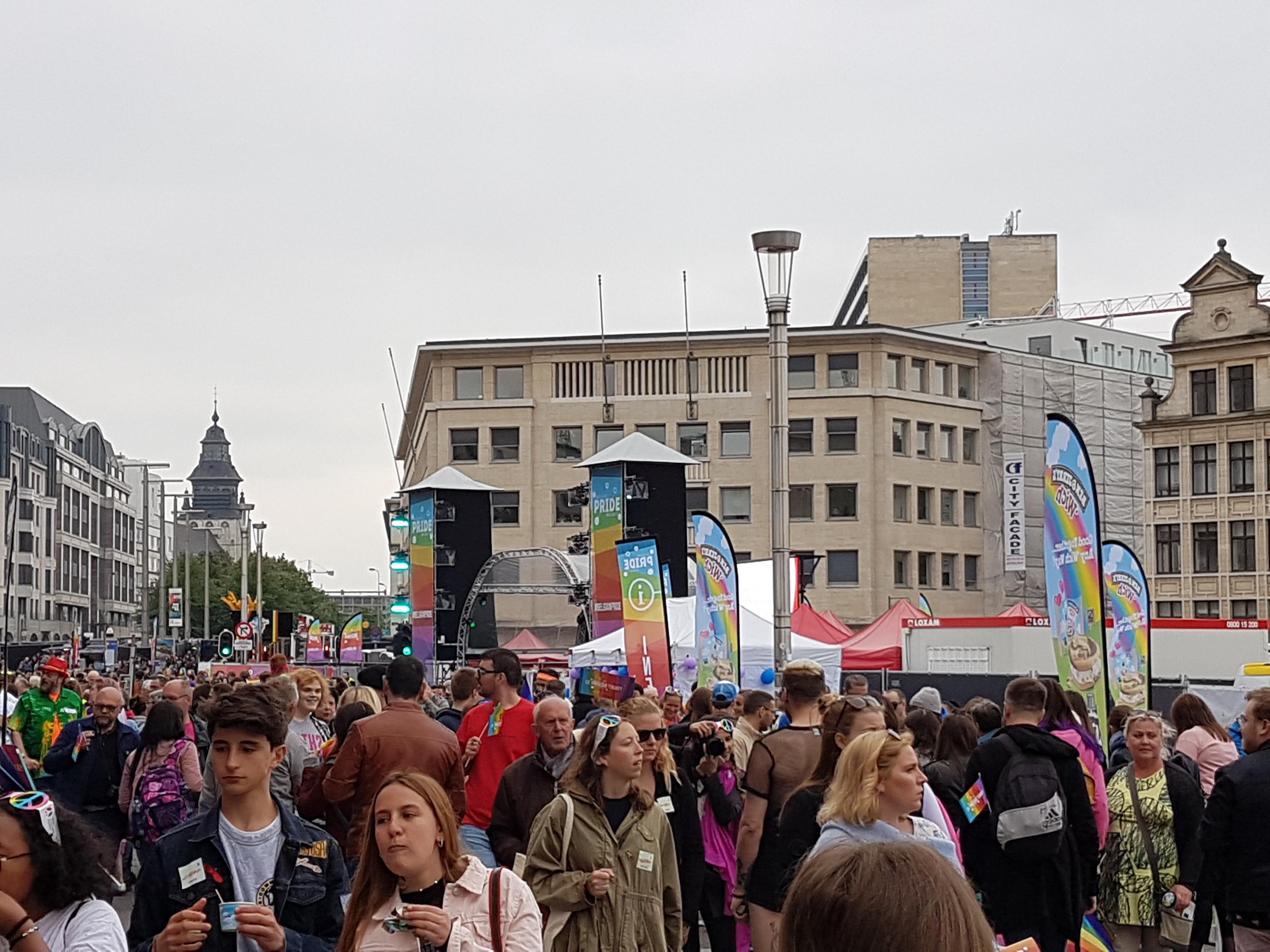 Belgian Pride 2018 im Brussel
