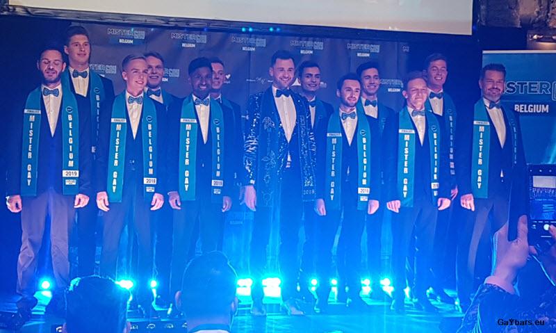 Mister Gay Belgium Gouden 12