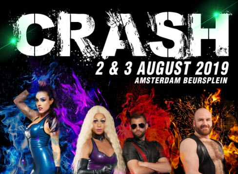 CRASH Amsterdam the second edition