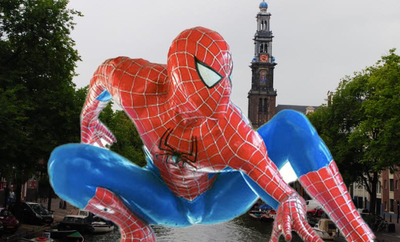 Spider-Man is not Far From Home in de home scene