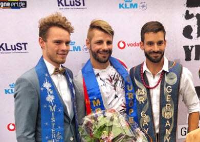 Winner of Mr Gay Europe 2019 is Bulgaria