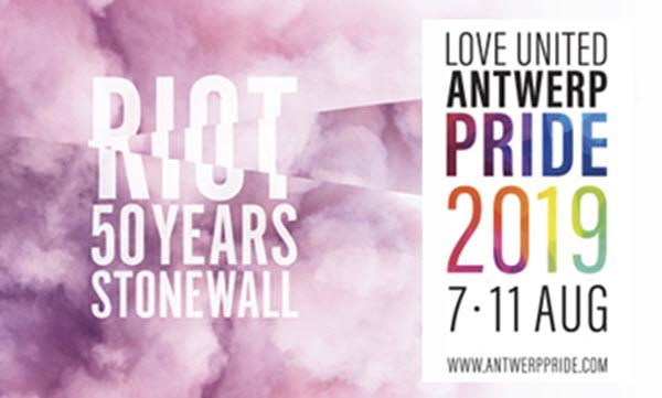 61 delegaties in Antwerp Pride Parade langs een nieuwe route
