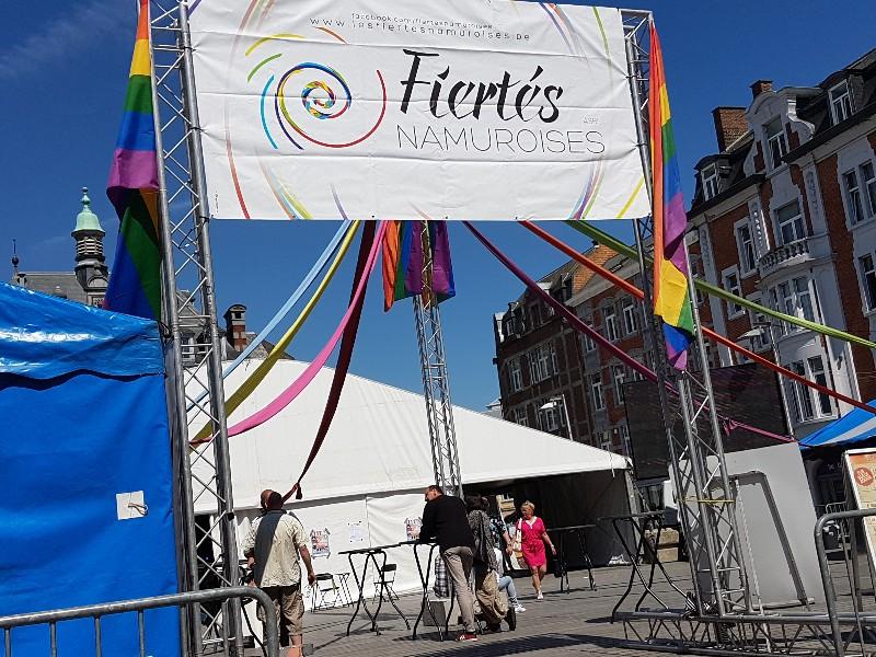 La Journee des Fiertes 10eme edition dans Namur