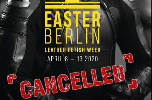 Easter Berlin 2020 has been cancelled