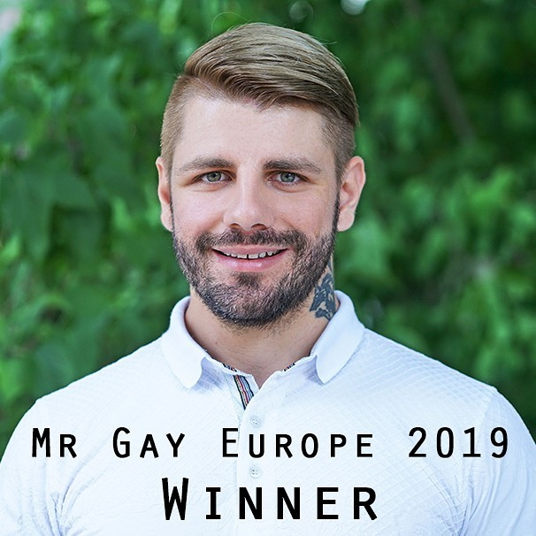 Winaar van Mr Gay Europe 2019 is Bulgarije