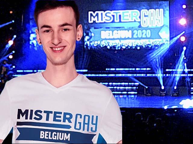 Joren Houtevels werd verkozen tot Mister Gay Belgium 2020