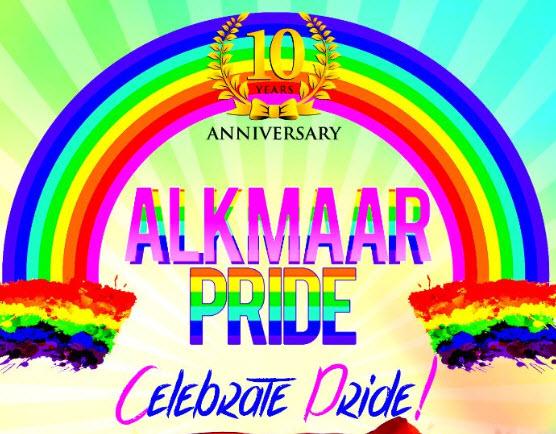 Tien jaar Alkmaar Pride Celebrate pride
