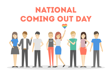 Coming out day 11 oktober