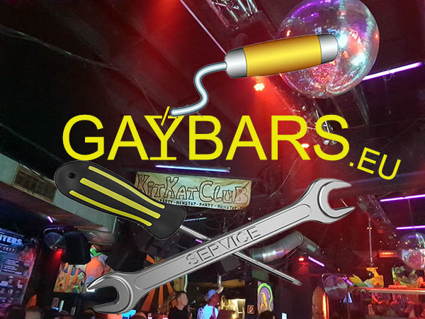 Gaybars site in vernieuwing