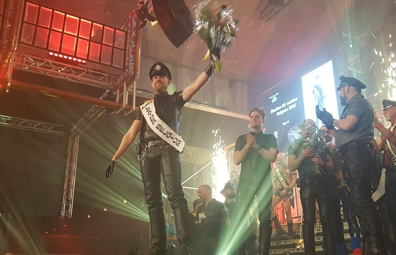 Bart Varakas is Mister Leather Belgium 2018
