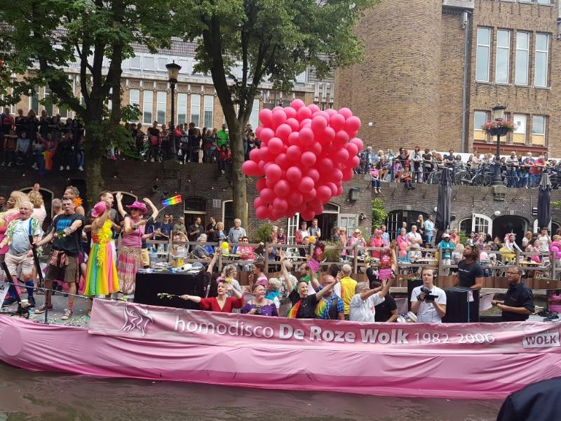 Meer dan 50000 bezoekers op de Utrecht Pride 2018